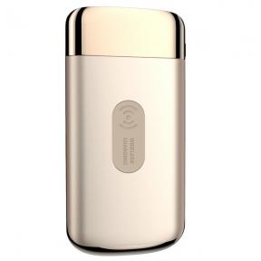 Беспроводной повербанк PowerBank Joyroom Qi 10000 mAh Gold (JR-Qi-D121-G)
