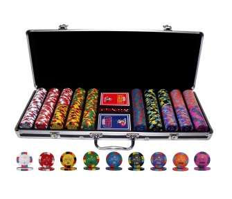 Набор для покера Monte Carlo Millions 500 фишек в Кейсе