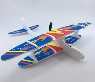 Самолет с моторчиком Goods4u, метательный планер Aircraft с пропеллером