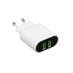 Сетевое зарядное устройство + кабель StatusACSE 12W MY-A202 (2,4 А)