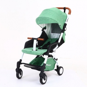 Детская коляска YOYA care 2018 Зеленая белая/черная рама