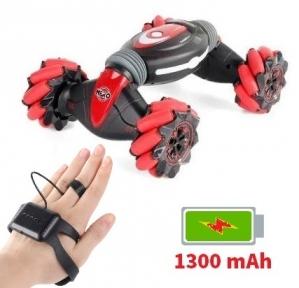 Машинка управление жестами руки Stunt Car HERO Красная (RQ2071)