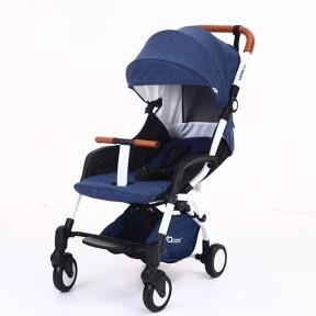 Детская коляска YOYA care 2018 Синяя белая/черная рама