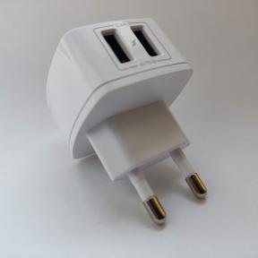Сетевое зарядное устройство + кабель StatusACSE 12W MY-A227 (2,4 А) White