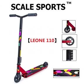 Трюковый самокат Scale Sports Leone 110 мм Красный (USA)