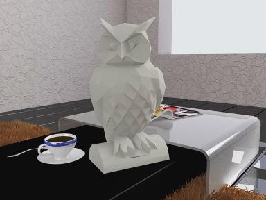 Бумажная модель 3Decor Papercraft Сова (48)