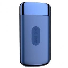 Беспроводной повербанк PowerBank Joyroom Qi 10000 mAh Blue (JR-Qi-D121-BL)