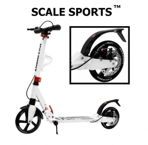 Самокат Scale Sports Elite Plus (ss-04) Белый