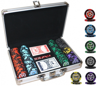 Покерный набор PokerStars с 200 номинальными фишками