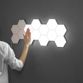 Модульный LED светильник Quantum сенсорный белый 5 шт