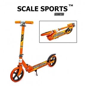 Самокат Scale Sports Scooter City 460 (USA) Оранжевый