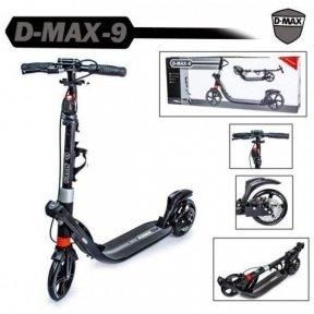 Самокат Scale Sports D-Max-9 Disc Черный (Дисковый тормоз)