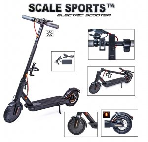 Электросамокат Scale Sports (ss-11) Titan Черный USA