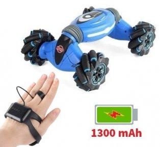 Машинка управление жестами руки Stunt Car HERO Синяя (RQ2071)