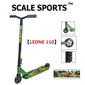 Самокат для трюков Scale Sports Leone 110 мм Зеленый (USA)