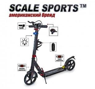 Самокат Scale Sports SS-10 Черный (USA)