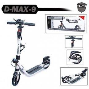 Самокат Scale Sports D-Max-9 Disc Белый (Дисковый тормоз)
