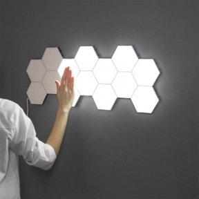 Модульный LED светильник Quantum сенсорный белый 10 шт.