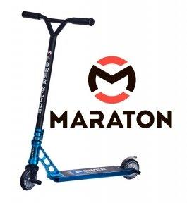 Трюковый самокат Maraton PowerSlide Синий Металлик