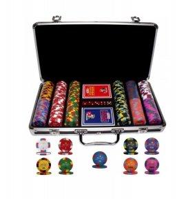 Набор для покера Monte Carlo Millions 300 фишек в Кейсе