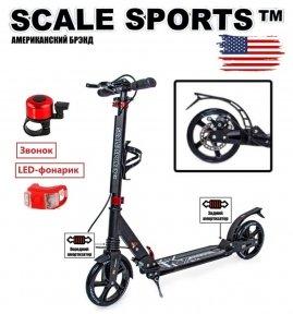 Самокат Scale Sports Elite Plus (ss-04) Черный 2021