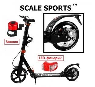 Самокат Scale Sports Elite Plus (ss-04) Черный