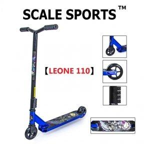 Трюковый самокат Scale Sports Leone 110 мм Синий (USA)