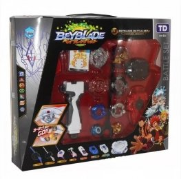 Набор BeyBlade TD - 5 в 1 BATTLE SET волчки + арена с ловушками