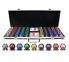 Набор для игры в покер номиналом 500 фишек, 2 колоды карт в Кейсе